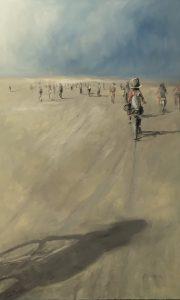 Bike Ride, 130x80cm (Öl auf Leinwand)