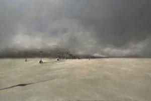 Black Rock City, 100x150cm (Öl auf Leinwand)