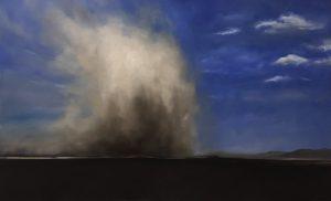 Dust Storm, 80x130cm (Öl auf Leinwand)