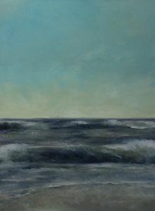 Ich will Meer, 120x90cm (Öl auf Leinwand)