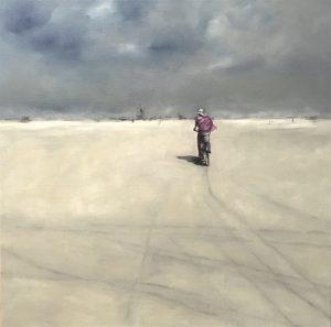 The Playa, 100x100cm (Öl auf Leinwand)