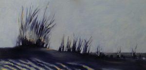 Dünengras, 30x50cm (Öl auf Leinwand)