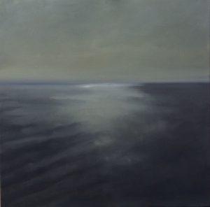 Stille 2, 70x70cm (Öl auf Leinwand)