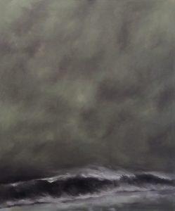 Stormy Night, 130x110cm (Öl auf Leinwand)