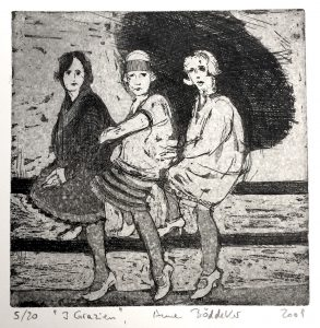 Drei Grazien (15x15cm)