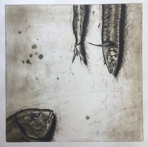 Fischplatte (40x40cm)