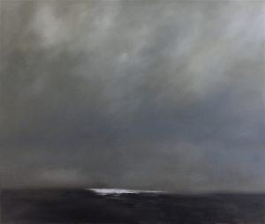 Meeresleuchten, 110x130cm (Öl auf Leinwand)
