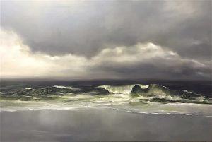 Nordsee, 120x180cm (Öl auf Leinwand)