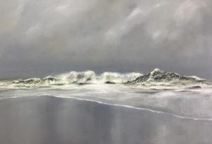 Mehr Meer, 90x130cm (Öl auf Leinwand)