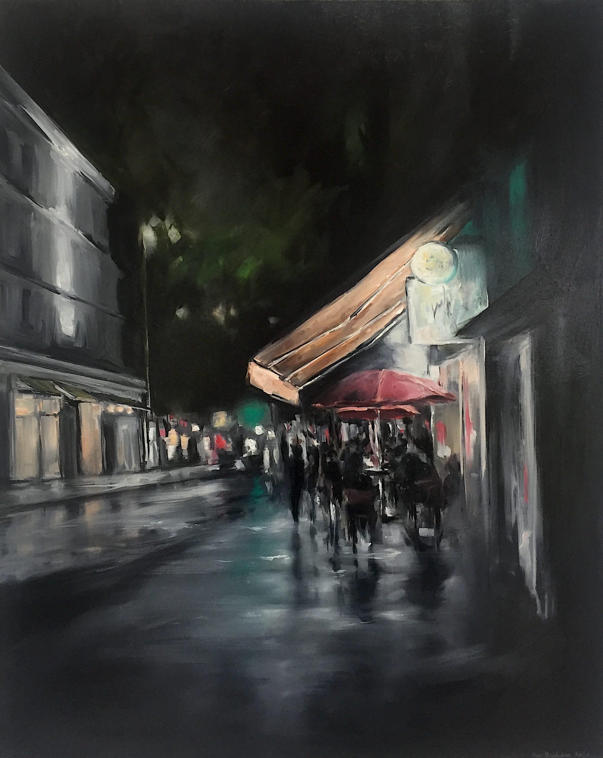 Cityscapes#2, 100x80cm (Öl auf Leinwand), 2020