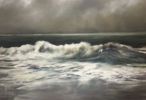 Seestück, 110x160cm (Öl auf Leinwand), 2020