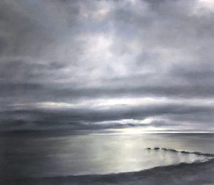 Stille, 130c160cm (Öl auf Leinwand), 2020