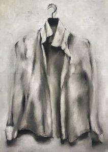 Verlassene Bluse, 70x50cm (Öl auf Leinwand), 2020