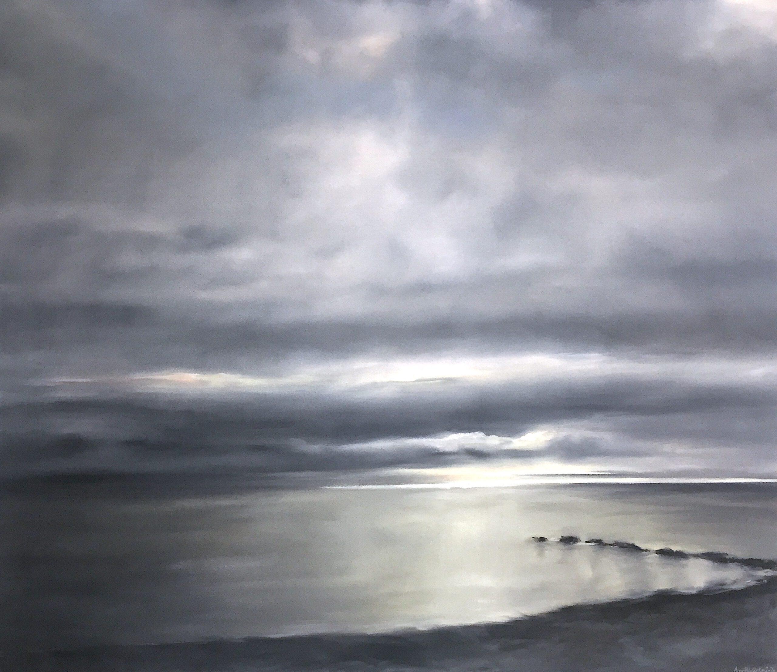 Stille, 130x160cm, Öl auf Leinwand