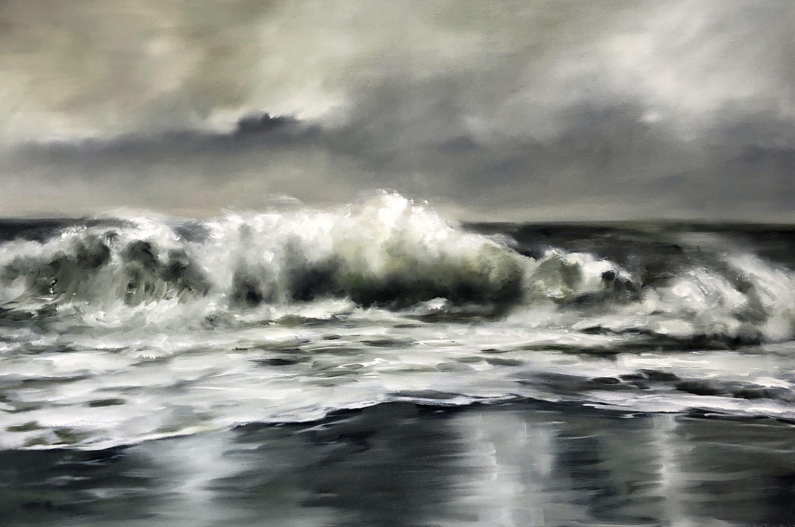 Oceanlove. 100x150cm, Öl auf Leinwand